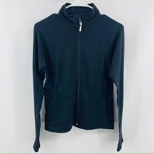 Lululemon Black Running Jacket with Zipper Pockets